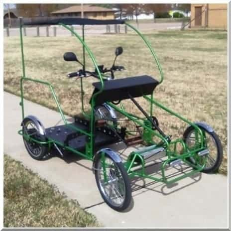 Wheelchair-Accessible-Quadricycle